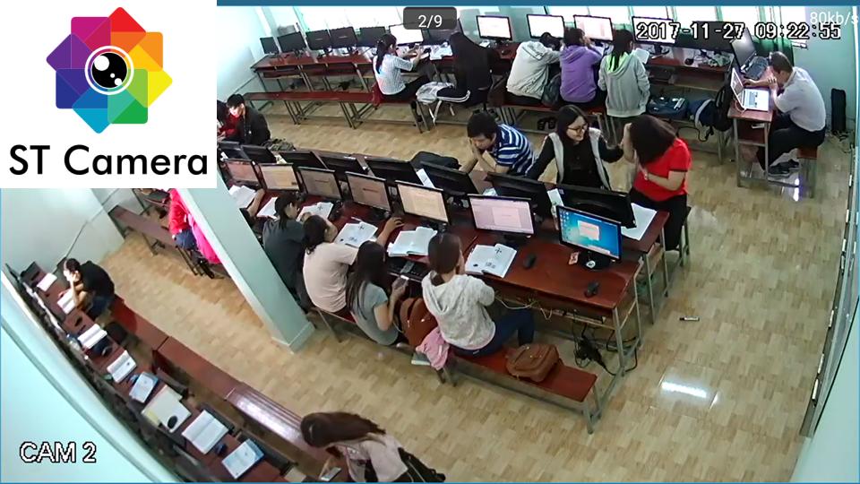 Lắp đặt camera quan sát cho trường học