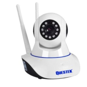 Camera IP wifi Questek xoay 360 độ 2 Râu